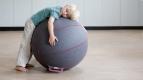 Фітнес м'яч-крісло VLUV felt seat ball 65cm 0