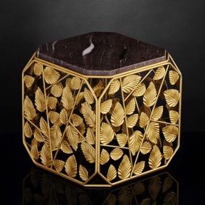 Куб TRID № 5B з гранітною вставкою Brown Silk